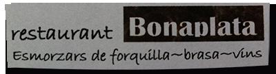 Restaurant Bonaplata - Carnes a la Brasa
